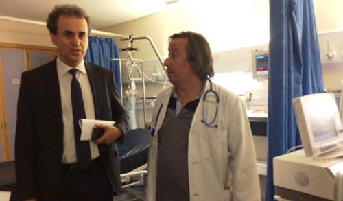 secretario estado adjunto visita hospitais